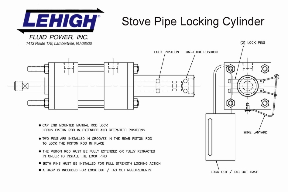 Locking Cylinders Lehigh Fluid Power
